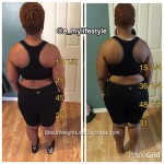 Erica lost 68 pounds