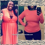 Kanisha lost 55 pounds
