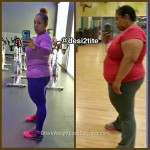 Desiree lost 75 pounds