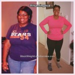 Ebony lost 47 pounds