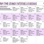 Exercise Videos – 30 Day Time Crunch Intervals Challenge