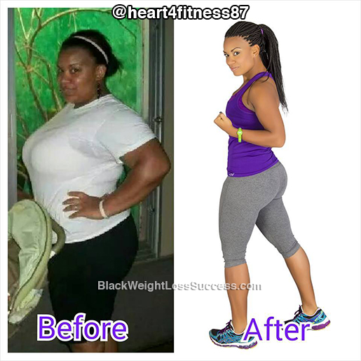 Jessica Lost 122 Pounds Black Weight Loss Success