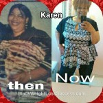 Karen lost 200 pounds