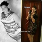 Nicole lost 219 pounds