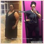 nicole weight loss journey