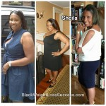 Sheila lost 20 pounds