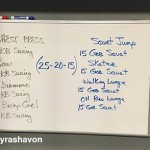 shyra HIIT exercise
