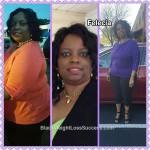 Felecia lost 71 pounds
