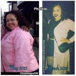 Phylicia lost 50 pounds