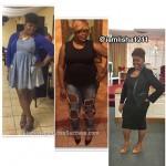 Alisha lost 54 pounds