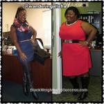 Alisha lost 138 pounds