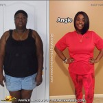 Angie lost 59 pounds
