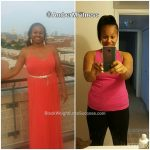 Amber lost 35 pounds