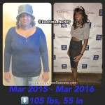 kashina weight loss story