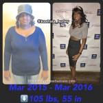 kashina weight loss story