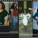 Marlo lost 100 pounds