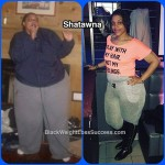 Shatawna lost more than 200 pounds