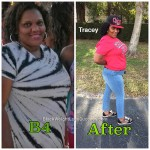 tracey weight loss journey