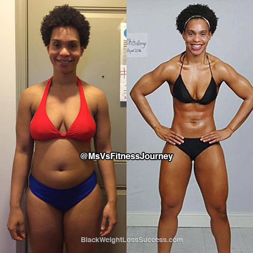 Vanetza Lost 25 Pounds And Transformed In 12 Weeks Black Weight Loss Success