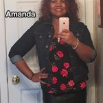 Amanda lost 68 pounds