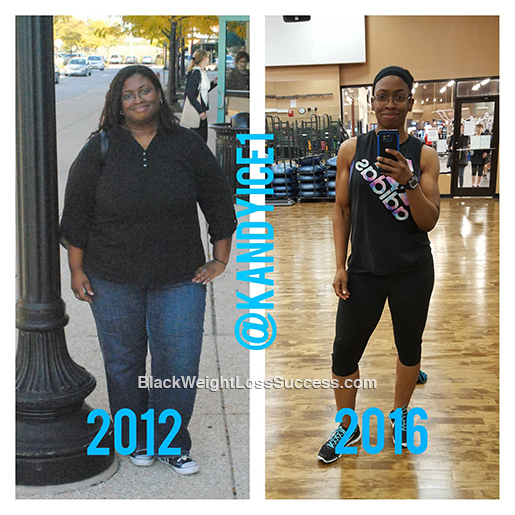 Candice lost 135 pounds | Black Weight Loss Success