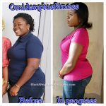 Esther lost 48 pounds