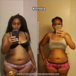 Kendra lost 36 pounds