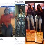 LaToya lost 46 pounds