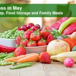 Meatless in May – Meal Prep, Food Storage and Family Meals