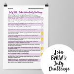 July 2016 Take Action Daily Challenge