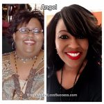 Angel lost 90 pounds