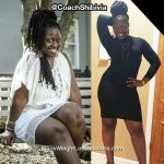Shibivia lost 25 pounds