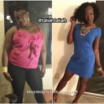 Taliah lost 93 pounds