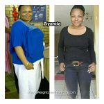 Ziyanda lost 71 pounds