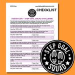 August 2016 Step Goal Challenge