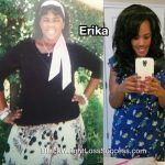 Erika lost 101 pounds