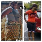 Mali lost 75 pounds