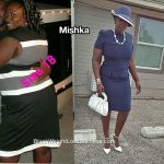 Mishka lost 54 pounds