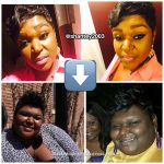 A'shantey lost over 130 pounds