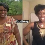 Britteny lost 111 pounds