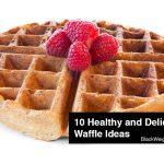 healthy waffle recipes