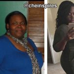 Che lost 127 pounds