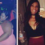 Natasha lost 180 pounds