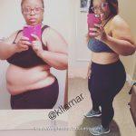 Kristy lost 65 pounds