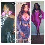 Latoya lost 69 pounds