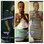 Rahab lost 73 pounds