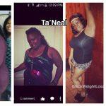 ta'neal weight loss