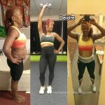 Deidre went from a size 12 to a size 6
