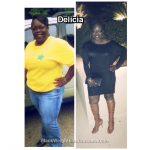 Delicia lost 92 pounds