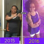Rena lost 82 pounds